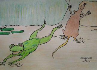 dongeng kodok dan tikus